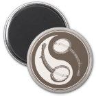 Banjo Yang Runder Magnet 5,7 Cm