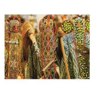 Banjouge Tänzer, Kamerun Postkarte
