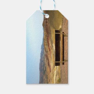 Bank-Ansicht an gemalten Hügeln übersehen Oregon Geschenkanhänger