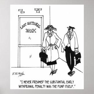 Bank-Cartoon 3328 Poster