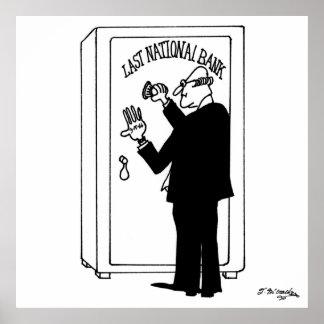 Bank-Cartoon 4011 Poster