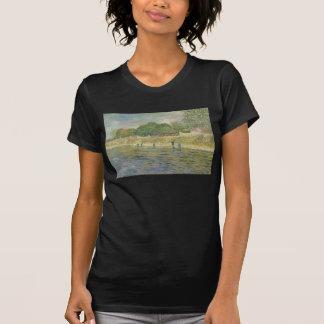 Bank der Seines durch Vincent van Gogh T-Shirts