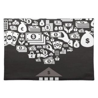 Bank Tischset