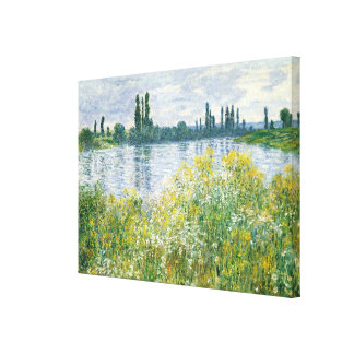 Banken Claude Monets | der Seines, Vetheuil, 1880 Leinwanddruck
