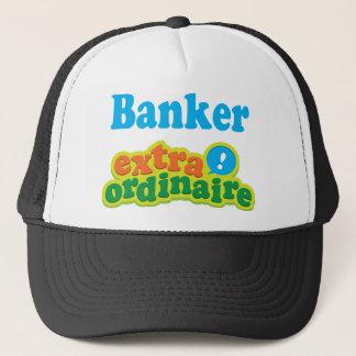 Banker-Extraordinaire Geschenk-Idee Truckerkappe