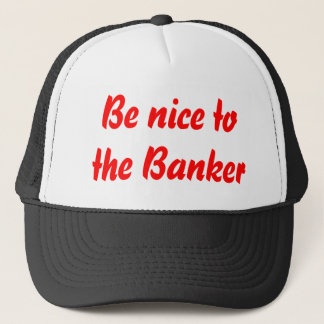 Banker-Hut Truckerkappe