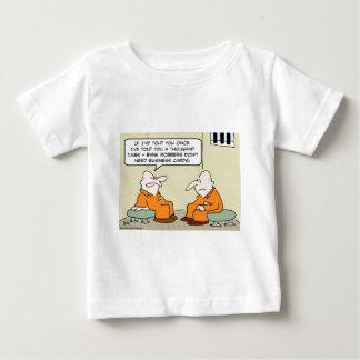 Bankräuber-Visitenkarten Baby T-shirt