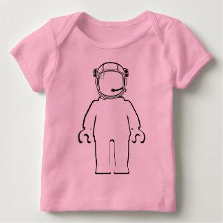 Banksy Art-Astronaut Minifig Baby T-Shirt