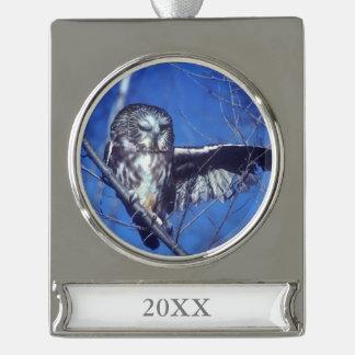 Banner-Ornament SILBER