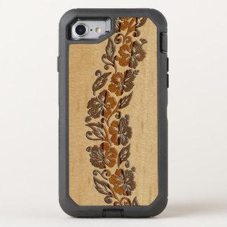 Bantambaum-hawaiisches OtterBox Defender iPhone 8/7 Hülle