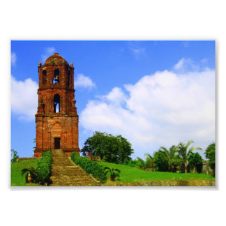 Bantay Glockenturm Fotodruck