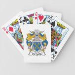 Banuelos Familienwappen Pokerkarten