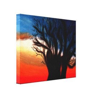 Baobab-Baum-Malerei Leinwand Drucke