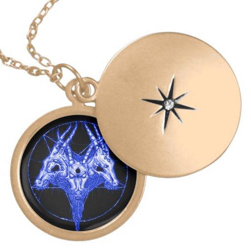 Baphomet Astraltor-Talisman Medaillon