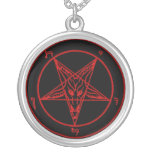 Baphomet Dämon-Symbol Goth Halskette