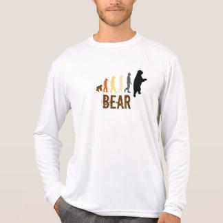 Bär/Aufstieg der Mann-Bärn-Farben T-Shirt