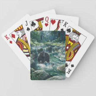 """Bär, der anvisiert II "" Spielkarten"