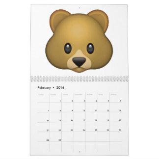 Bär - Emoji Abreißkalender
