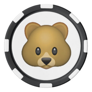 Bär - Emoji Poker Chips