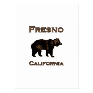 Bär Fresnos Kalifornien Postkarte