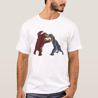 Bär gegen Gorilla T-Shirt