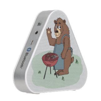 Bär grillt bluetooth Lautsprecher