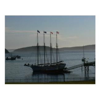 Bar-Hafen die Margaret Todd Postkarte