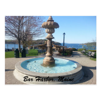 Bar-Hafen, Maine-Postkarte Postkarte