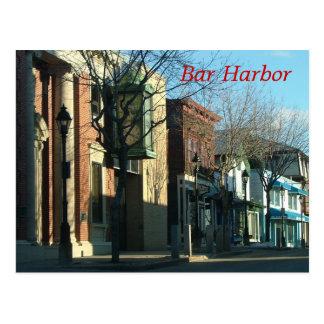 Bar-Hafen Postkarte
