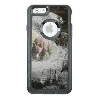 Bär im Fluss-Eis OtterBox iPhone 6/6s Hülle