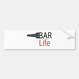 Bar-Leben-Abnutzung Autoaufkleber