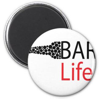 Bar-Leben-Abnutzung Runder Magnet 5,7 Cm