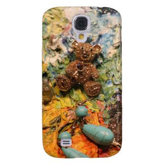 Bär mag Juwelen - Türkis Galaxy S4 Hülle