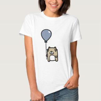 Bär mit blauem Ballon T Shirt
