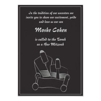 Bar Mitzvah Einladung - Ablesen des Torah