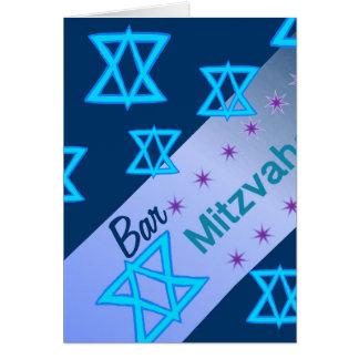 Bar Mitzvah Karte