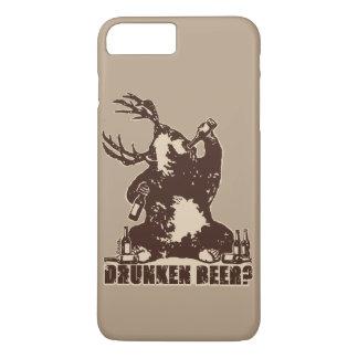 Bär, Rotwild, betrunkenes Bier? iPhone 8 Plus/7 Plus Hülle