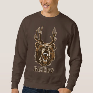 Bär, Rotwild oder Bier Sweatshirt