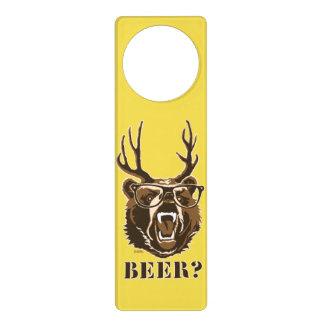 Bär, Rotwild oder Bier Türanhänger