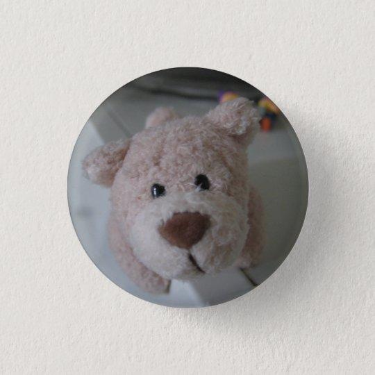 Bär Runder Button 3,2 Cm