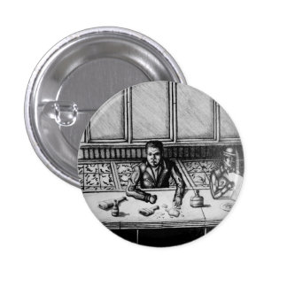 Bar-Szenen-Abzeichen Runder Button 3,2 Cm