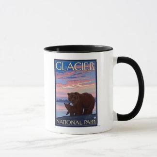 Bär und CUB - Glacier Nationalpark, M.Ü. Tasse