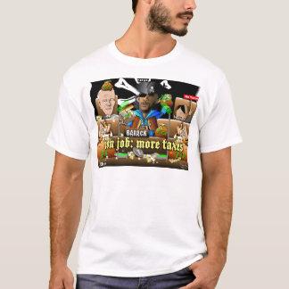 Barack der Pirat und der Davy Jones T-Shirt