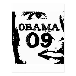 Barack Obama 2009 Postkarten