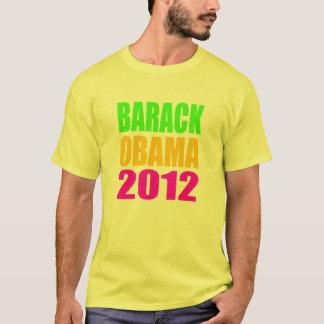 Barack Obama 2012 Neon-Hemd T-Shirt