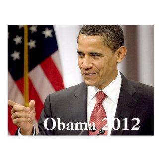Barack Obama 2012 Postkarte