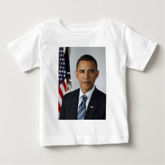 BARACK OBAMA 44. Präsident der Vereinigten Staaten Baby T-shirt