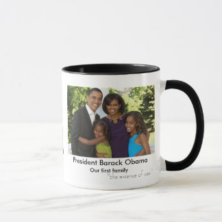 """Barack Obama, """"das Wesentliche von coolem """" Tasse"""