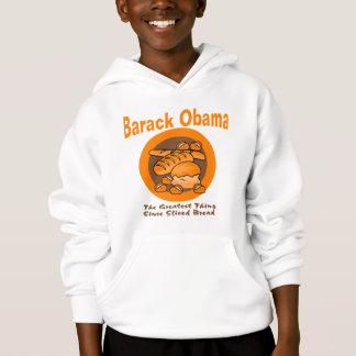 Barack Obama die bestste Sache seit geschnittenem Hoodie