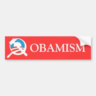 Barack Obama ein sozialistischer Marxist Autoaufkleber